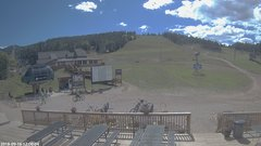 view from Angel Fire Resort - Base on 2018-09-16