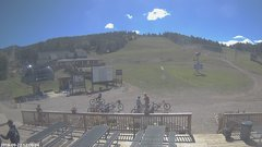 view from Angel Fire Resort - Base on 2018-09-22
