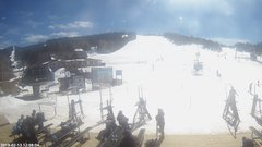 view from Angel Fire Resort - Base on 2019-02-13