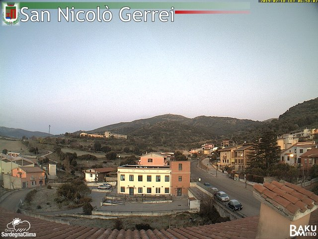 time-lapse frame, San Nicolò webcam