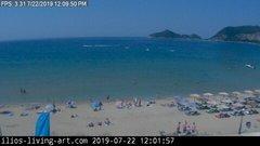 view from Agios Georgios NW Corfu Greece on 2019-07-22