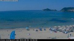 view from Agios Georgios NW Corfu Greece on 2019-08-05