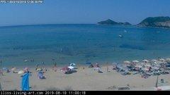 view from Agios Georgios NW Corfu Greece on 2019-08-10