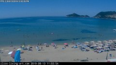 view from Agios Georgios NW Corfu Greece on 2019-08-13