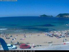 view from Agios Georgios NW Corfu Greece on 2019-08-16
