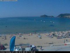 view from Agios Georgios NW Corfu Greece on 2019-08-23