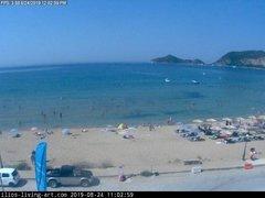 view from Agios Georgios NW Corfu Greece on 2019-08-24