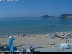 view from Agios Georgios NW Corfu Greece on 2019-08-26