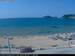 view from Agios Georgios NW Corfu Greece on 2019-08-30