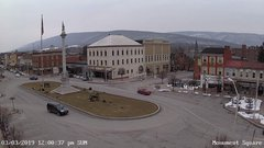 view from Monument Square Center on 2019-03-03