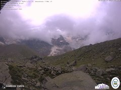 view from Rifugio Zamboni on 2019-08-19