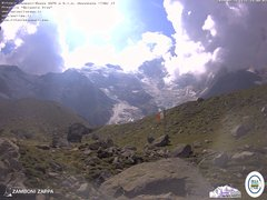 view from Rifugio Zamboni on 2019-08-26