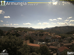 view from Armungia on 2019-07-16