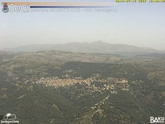 view from Monte Lusei Seui on 2018-07-15