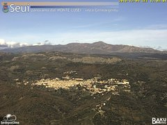 view from Monte Lusei Seui on 2018-12-04