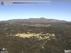 view from Monte Lusei Seui on 2018-12-05