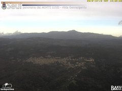 view from Monte Lusei Seui on 2018-12-12