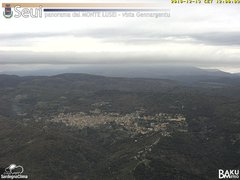 view from Monte Lusei Seui on 2018-12-13