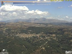 view from Monte Lusei Seui on 2019-07-15