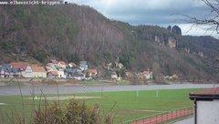 view from Webcam in Bad Schandau Sächsische Schweiz on 2019-03-14