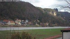 view from Webcam in Bad Schandau Sächsische Schweiz on 2019-03-15