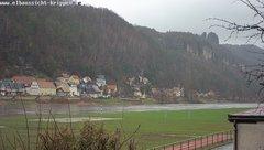 view from Webcam in Bad Schandau Sächsische Schweiz on 2019-03-16