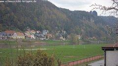 view from Webcam in Bad Schandau Sächsische Schweiz on 2019-04-13