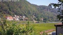 view from Webcam in Bad Schandau Sächsische Schweiz on 2019-06-03