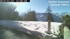 view from Verbier Snowcam2 on 2019-01-07