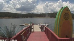 view from Angel Fire Resort - Monte Verde Lake on 2018-07-11