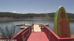 view from Angel Fire Resort - Monte Verde Lake on 2018-07-18