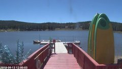 view from Angel Fire Resort - Monte Verde Lake on 2018-09-13