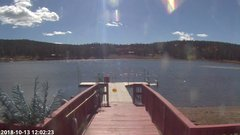 view from Angel Fire Resort - Monte Verde Lake on 2018-10-13
