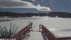 view from Angel Fire Resort - Monte Verde Lake on 2018-12-04