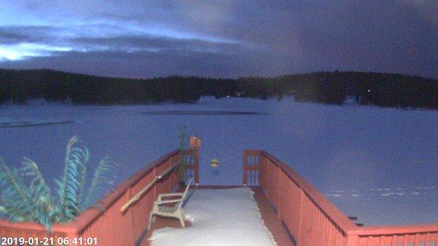 time-lapse frame, Angel Fire Resort - Monte Verde Lake webcam