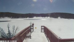 view from Angel Fire Resort - Monte Verde Lake on 2019-02-08