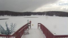 view from Angel Fire Resort - Monte Verde Lake on 2019-02-11