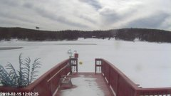 view from Angel Fire Resort - Monte Verde Lake on 2019-02-15