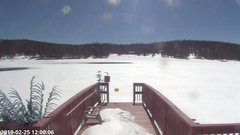 view from Angel Fire Resort - Monte Verde Lake on 2019-02-25
