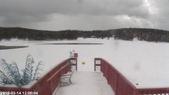 view from Angel Fire Resort - Monte Verde Lake on 2019-03-14