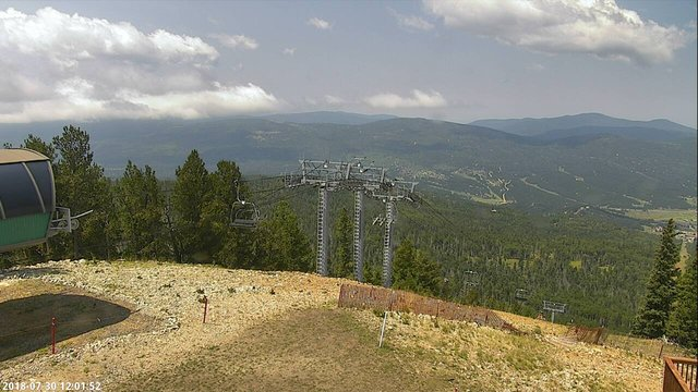 view from Angel Fire West View on 2018-07-30