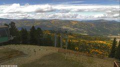 view from Angel Fire West View on 2018-10-08