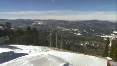 view from Angel Fire West View on 2019-02-25
