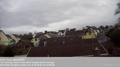 view from Wembury, Devon. Knighton Hill Cam on 2019-02-18
