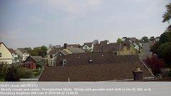 view from Wembury, Devon. Knighton Hill Cam on 2019-04-22