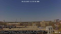 view from University Place Apartments - West Weather on 2019-04-15