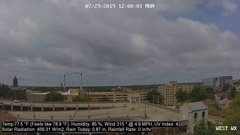 view from University Place Apartments - West Weather on 2019-07-29