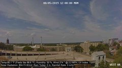 view from University Place Apartments - West Weather on 2019-08-05