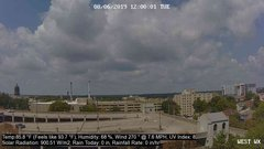 view from University Place Apartments - West Weather on 2019-08-06