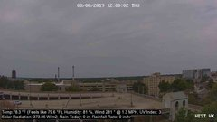 view from University Place Apartments - West Weather on 2019-08-08